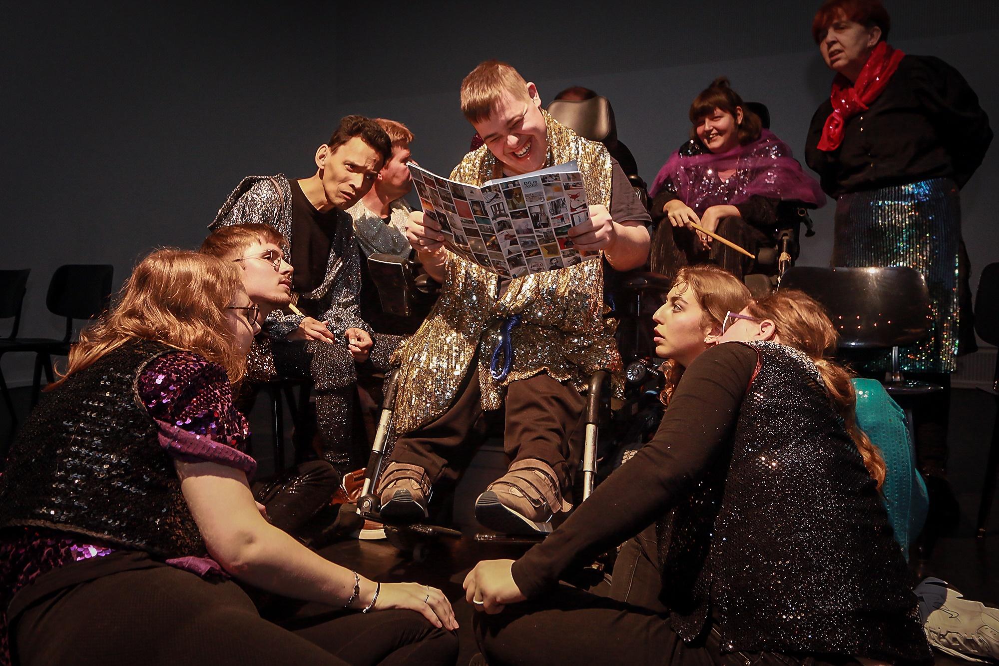 Speels Collectief – Theater Zonder Beperking – Arnhem En Omgeving